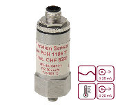 PCH 4-20 mA vibration and temperature sensor with dual outputs