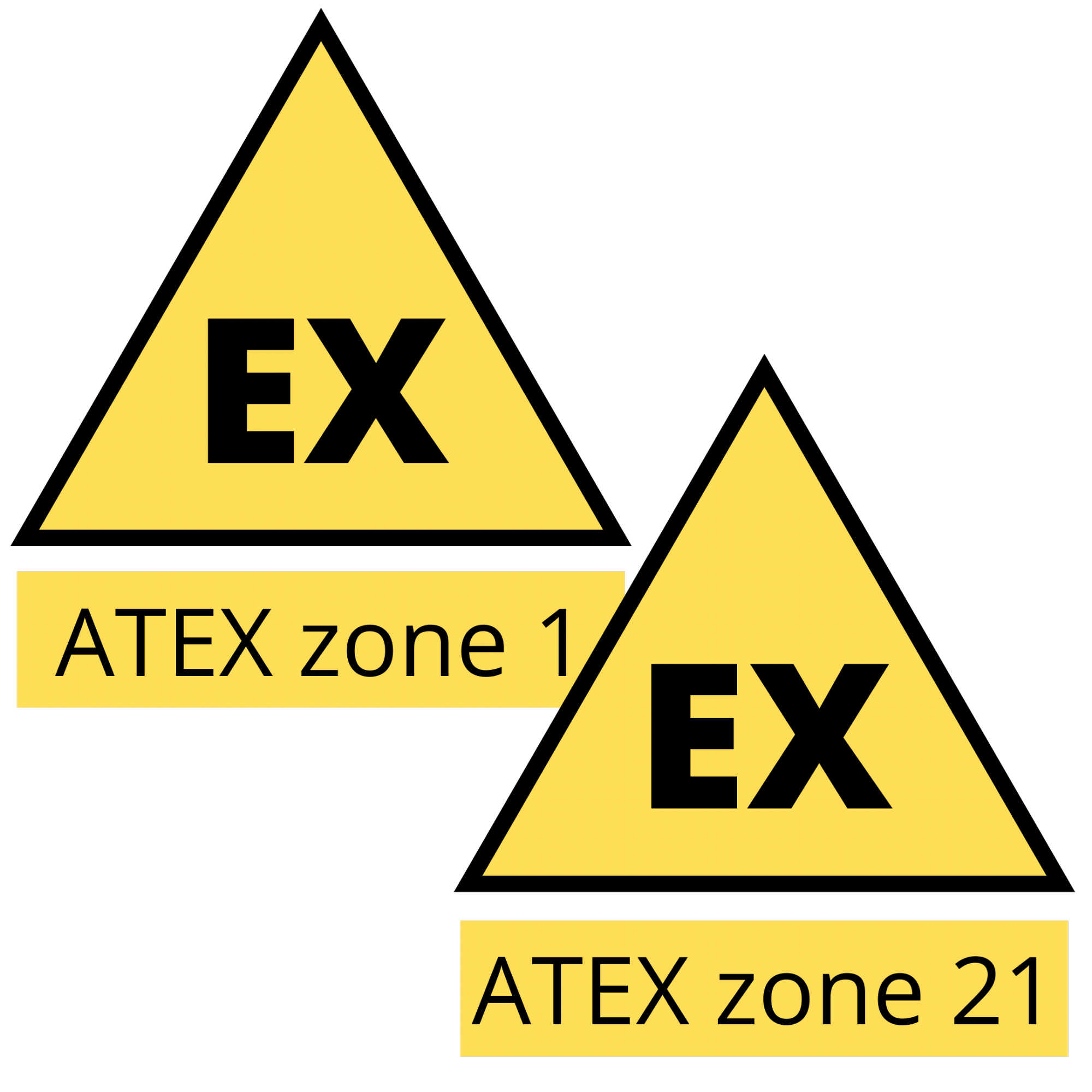 ATEX vibration monitors for zone 1 and zone 21